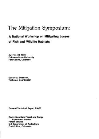 The Mitigation Symposium PDF