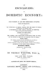 An Encyclopaedia of Domestic Economy PDF
