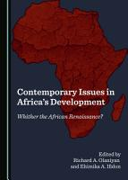 Contemporary Issues in Africa s Development PDF