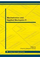 Mechatronics and Applied Mechanics II PDF