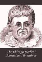 The Chicago Medical Journal and Examiner PDF