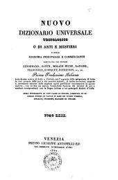Nuovo dizionario universale tecnologico o di arti e mestieri e della economia industriale e commerciante compilato dai signori Lenormand, Payen, Molard Jeune... [et al.]: INN-IRR, Volume 29
