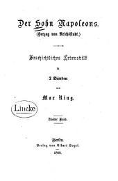 Der Sohn Napoleons (Herzon von Reichsstadt): geschichtliches Lebensbild in 2 Bänden, Band 2