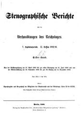 Verhandlungen des Reichstags: Band 68