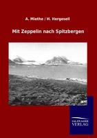 Mit Zeppelin Nach Spitzbergen PDF