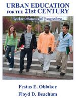 Urban Education for the 21st Century PDF