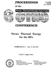 Proceedings of the 6th Ocean Thermal Energy Conversion Conference PDF