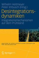 Desintegrationsdynamiken PDF
