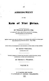 An Abridgment of the Law of Nisi Prius: Volume 2