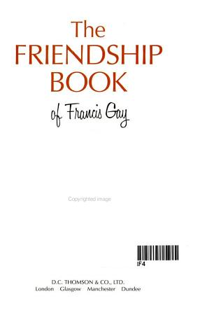 The Friendship Book  2001 PDF