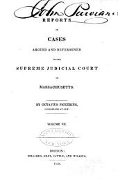 Reports of Cases Argued and Determined in the Supreme Judicial Court of the Commonwealth of Massachusetts: Volume 24
