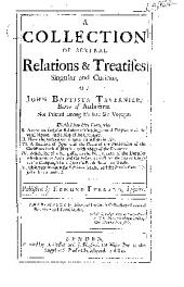 A Collection of Several Relations & Treatises Singular and Curious