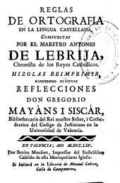 Reglas de ortografía en la lengua castellana