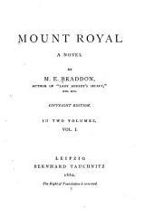 Mount Royal: A Novel, Volume 1