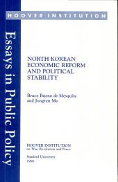 North Korean Economic Reform and Political Stability