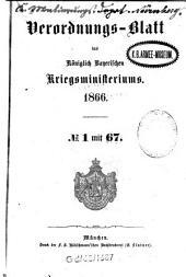 Verordnungs-Blatt: 1866