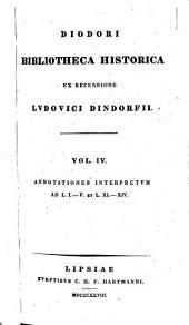 Diodori Bibliotheca historica: Volume 4