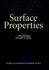 Advances in Chemical Physics, Volume 95: Surface Properties