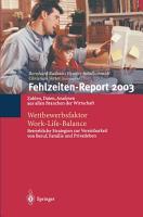 Fehlzeiten Report 2003 PDF