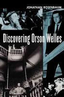 Discovering Orson Welles PDF