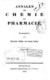 Annalen der Chemie und Pharmacie