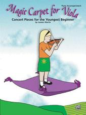 Magic Carpet for Viola: Concert Pieces for the Youngest Beginners