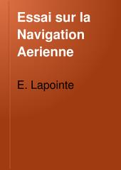 Essai sur la Navigation Aerienne