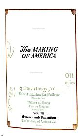 The Making of America: Volume 7