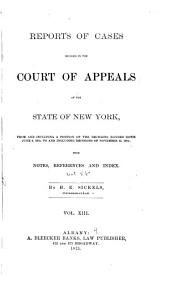 Reports of Cases Decided in the Court of Appeals of the State of New York (1875): Volume 58