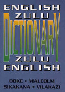 English-Zulu, Zulu-English Dictionary