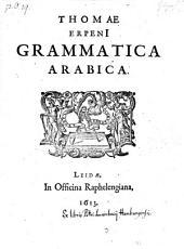 Grammatica arabica