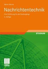 Nachrichtentechnik: Eine Einführung für alle Studiengänge, Ausgabe 6