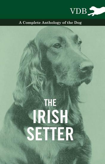 The Irish Setter   A Complete Anthology of the Dog PDF