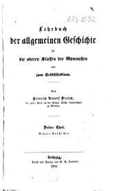 Lehrbuch der allgemeinen Geschichte: Band 1