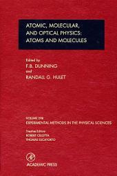 Atomic, Molecular, and Optical Physics: Atoms and Molecules: Volume 29B: Atomic, Molecular, And Optical Physics