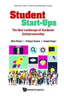 Student Start ups  The New Landscape Of Academic Entrepreneurship PDF