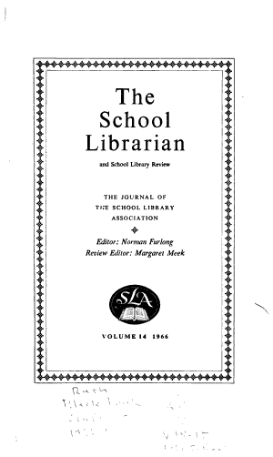 School Librarian and School Library Review