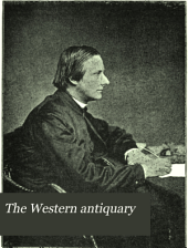 The Western Antiquary: Volume 8