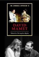 The Cambridge Companion to David Mamet PDF