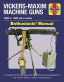 Vickers Maxim Machine Guns Enthusiasts  Manual