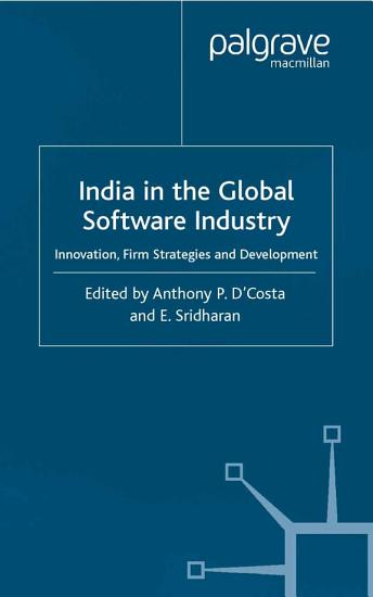 India in the Global Software Industry PDF