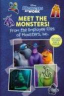 Meet the Monsters! (Monsters at Work)