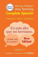 Merriam Webster s Easy Learning Complete Spanish