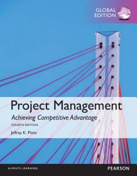 Project Management  Achieving Competitive Advantage  Global Edition PDF