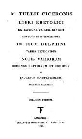 Clavis Ciceroniana, sive, Indices rerum et verborum philologico-critici in opera Ciceronis: accedunt Graeca Ciceronis necessariis observationibus illustrata, Volume 1