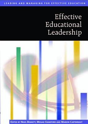 Effective Educational Leadership PDF