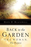 Back to the Garden  the Woman  the Purpose PDF