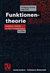 Funktionentheorie: Komplexe Analysis in einer Veränderlichen, Ausgabe 8