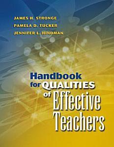 Handbook for Qualities of Effective Teachers PDF