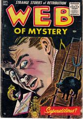Web of Mystery Comic Book No 29